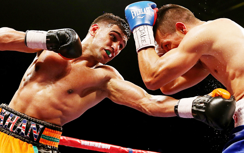Amir Khan want to take down Manny Pacquiao in Dubai