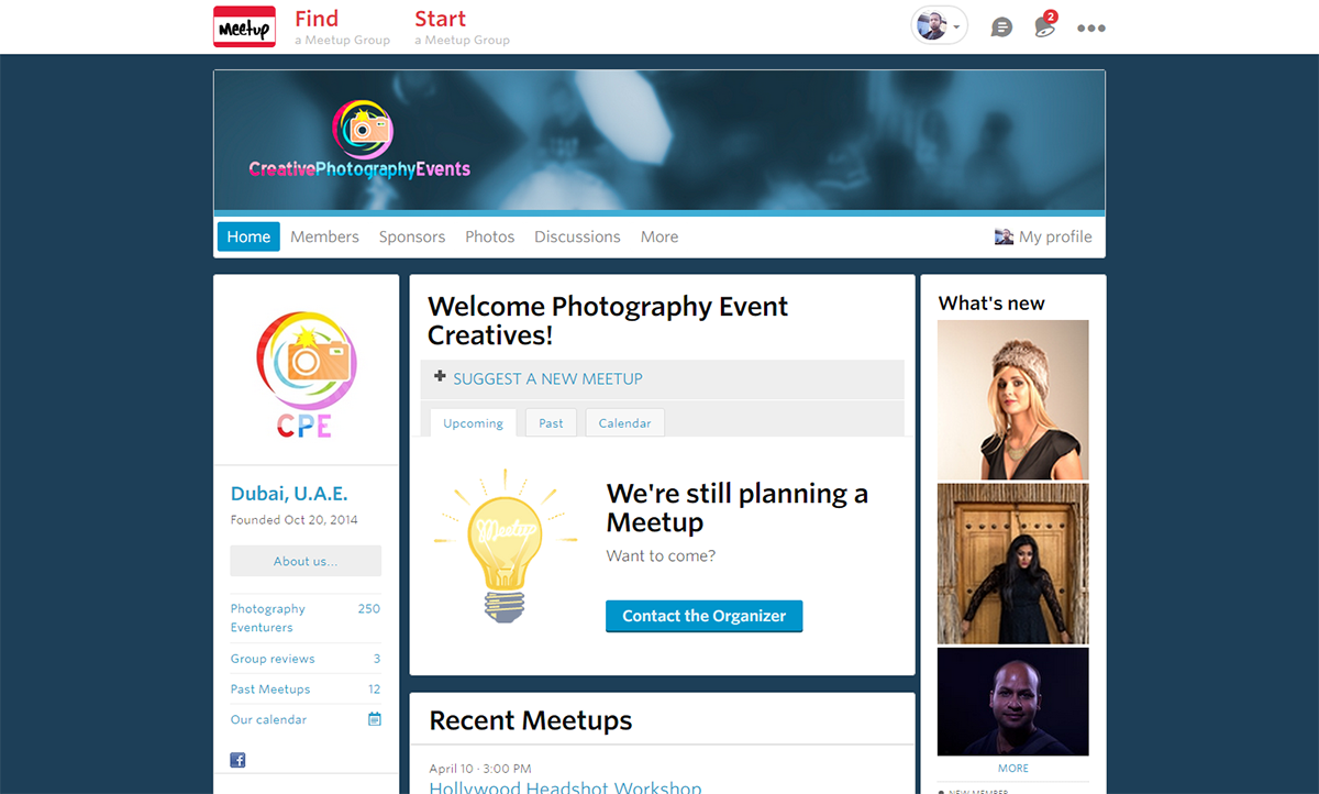 Best 3 places to hang out with photographers in Dubai - Meetip