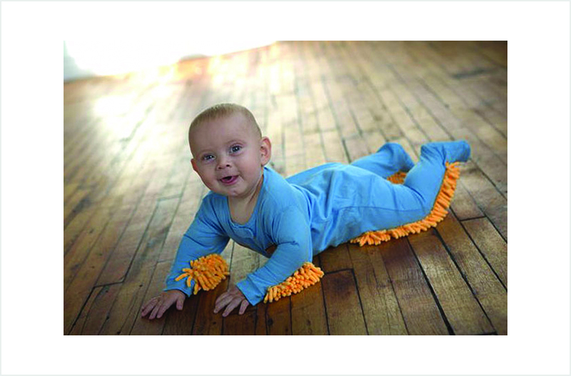 Creative Inventions You Might Need In Dubai-Baby Mop
