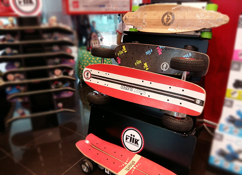 Electronic Skateboards - it's a shocking ride